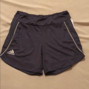 Dark Grey ClimaCool Adidas Athletic Shorts